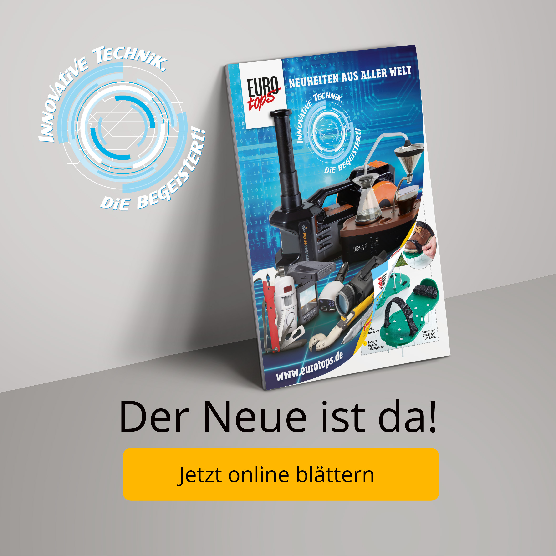Der neue EUROtops-Katalog