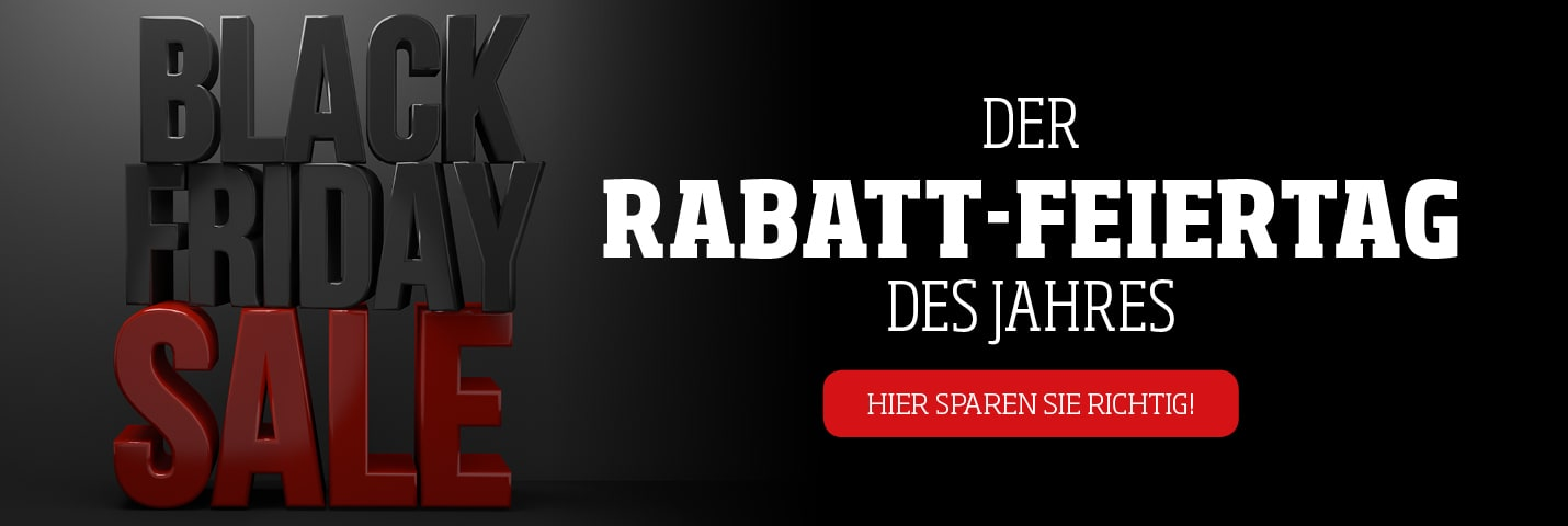 Black Friday - Rabatt-Feiertag