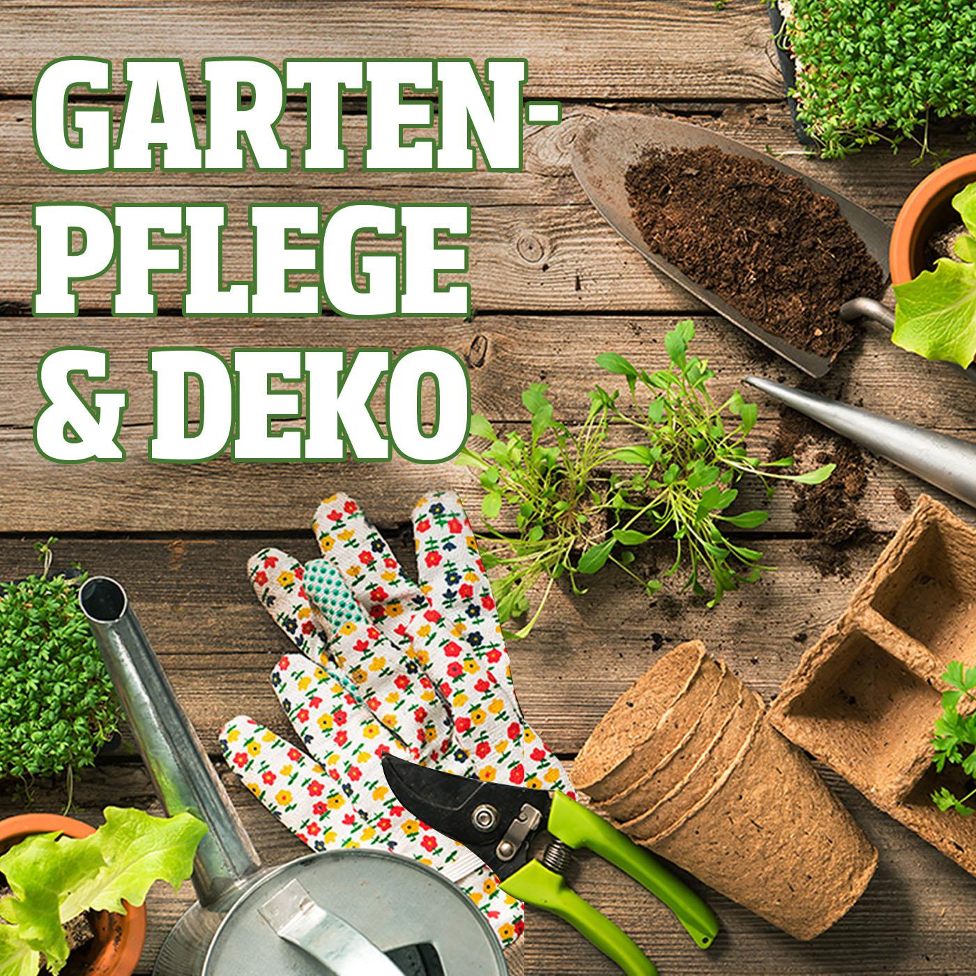 Gartenpflege & Deko