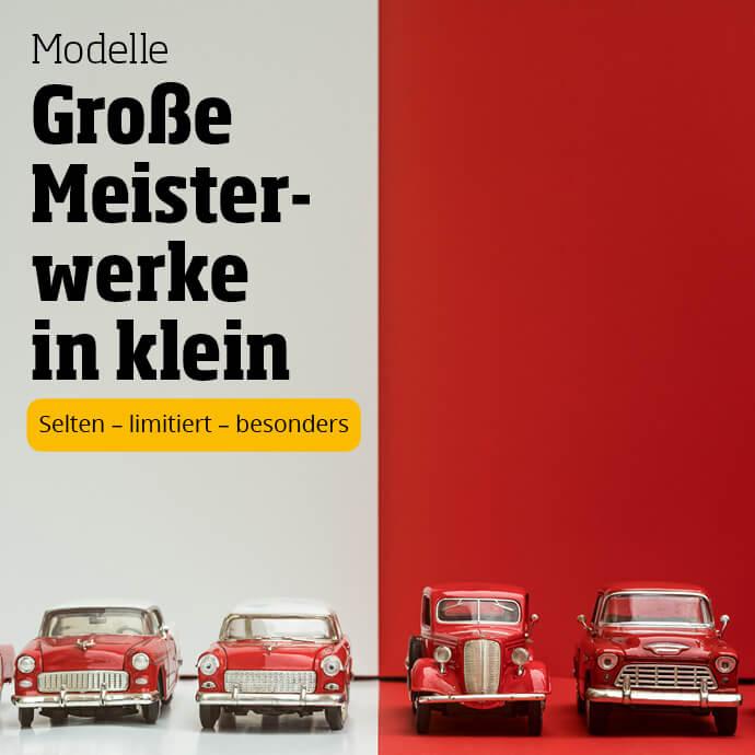 Modellautos - jetzt entdecken