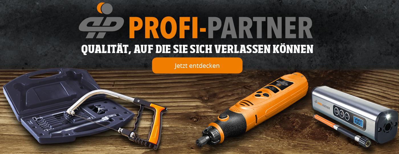 Profi-Partner - Werkzeuge von Profis, für Profis