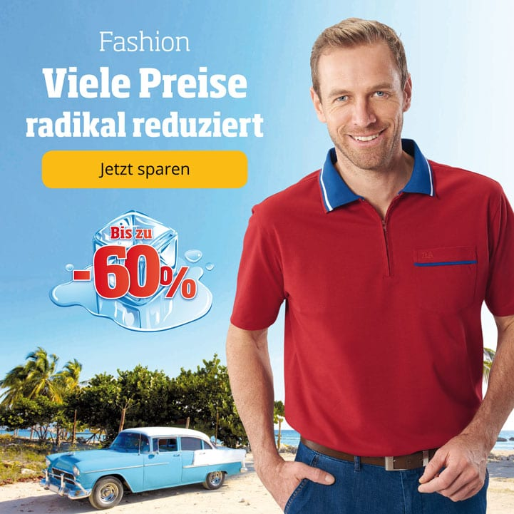 Viele Fashion-Produkte radikal reduziert!