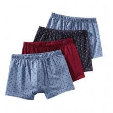 Baumwoll-Retropants 4er-Pack