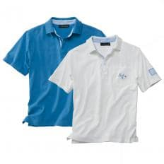 2er-Set Maritimes Polo-Shirt