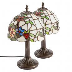 """2 Stück Tischlampe """"Tiffany"""""""