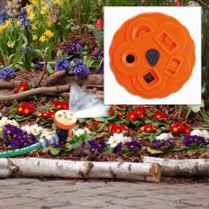 Erweiterbares Gartensprinklersystem