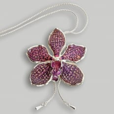 Orchideen-Collier