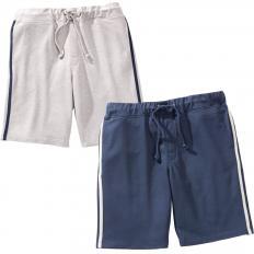 Jersey-Shorts im Zweier-Pack