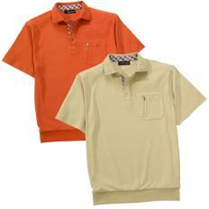 2er-Set Komfort-Poloshirt