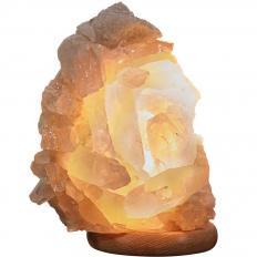 Bergkristall-Leuchte