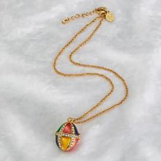 Halskette mit Schmuckei