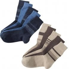 10er-Set Stretch-Komfortsocken