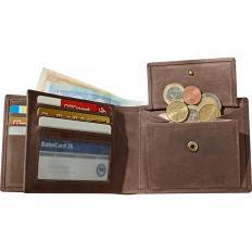 Geldbörse aus Büffelleder
