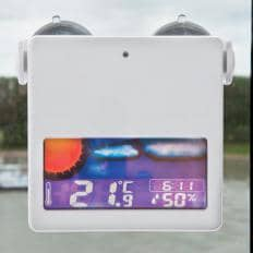 Digitales Solar-Fensterthermometer