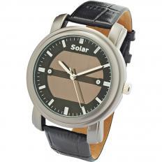 Elegante Solar-Armbanduhr