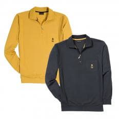 Polo-Langarmshirt (2er Set)