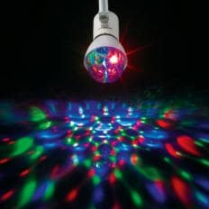 Rotierende LED-Partyleuchte