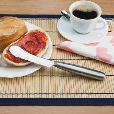 Frühstücksmesser mit Wellenschliff - 2er Set