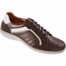 Sportiver Leder-Sneaker