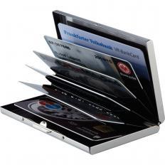 RFID-Schutz-Kartenbörse aus Edelstahl