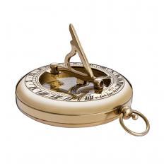Nostalgie Sonnenuhr mit Kompass