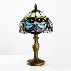 Tischlampe im Tiffany-Stil