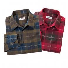 Doppelpack Flanellhemden