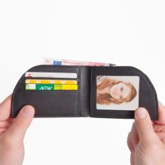 Fronttaschen-Geldbörse