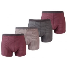 Mikrofaser-Streifen-Pants 4er Pack