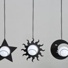 Solarleuchten Sonne, Mond & Stern