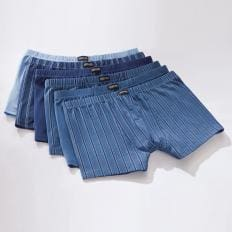 Baumwoll-Stretch-Retroshorts