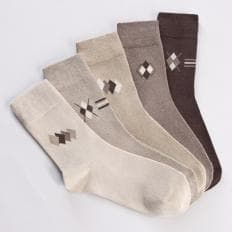 Komfort-Stretch-Socken - 5 Paar