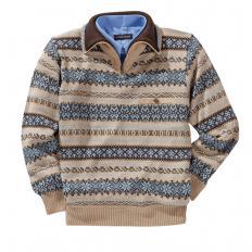 Pullover im Norweger Stil