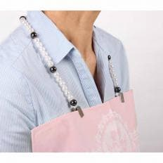 Serviettenkette im Perlendesign