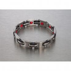 "Titan-Magnetarmband ""Red Power"""