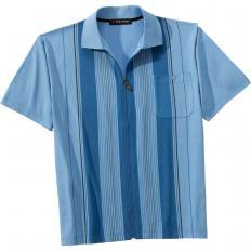 Poloshirt m.Reissver.Beige,XL