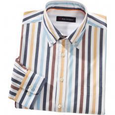 Baumwoll-Streifenhemd