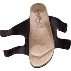 Kork-Pantolette mit Fersendämpfung