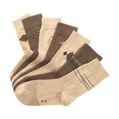 Stretch-Baumwollsocken 7 Paar
