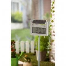 Digitales Solar-Gartenthermometer