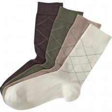 Hochwertige Baumwoll-Socken im 8er-Pack
