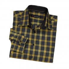 Bw.Pullover+Hemd,SET,gelb,5XL
