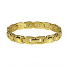 Vergoldetes Magnet-Armband