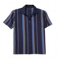 Polo-Shirt mit Ganzreissverschluss