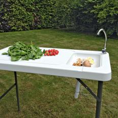 Outdoor-Küchenspüle