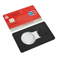 LED-Lupe im Scheckkartenformat