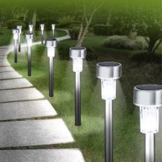 10 LED-Solarleuchten
