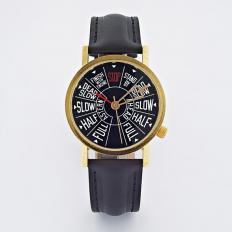 Armbanduhr Maschinentelegraph