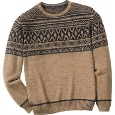 Exclusiver Bordürenpullover