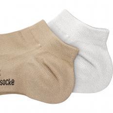 Viskose-Kurzschaft-Socke 3er Set
